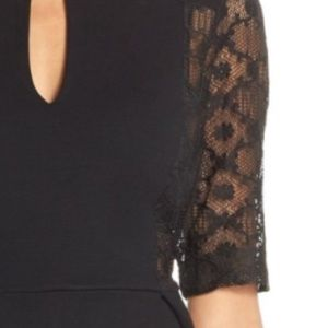 French Connection Dresses - French Connection black lace dress Sz 4 NWT